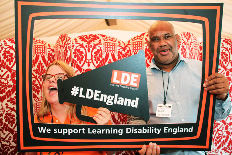 Laura and Mark at the LDE launch